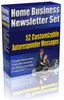 Home Business Niche Newsletter Set