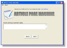 Thumbnail Dozens Of Search Engine Friendly Web Pages In Just Minutes