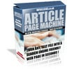 Article Page Machine Convert Text Into SE Web Pages