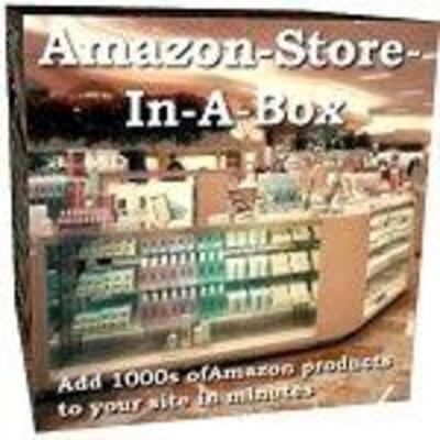 Product picture Amazon Affiliate Store In A Box