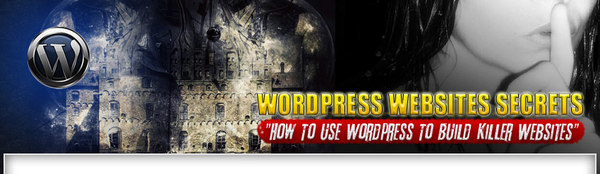 Product picture WordPress Websites Secrets Word Press Tutorial