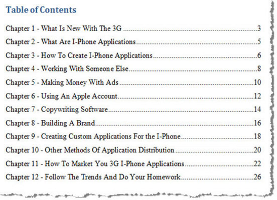 Product picture NEW 3G - IPHONE Apps guide