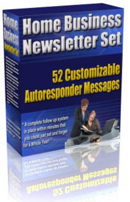 Product picture Home Business Niche Newsletter Set