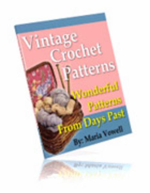 Product picture 20 Vintage Crochet Patterns