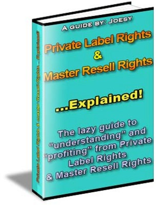 Product picture Private Label Rights  & Master Resell Rights Explained!