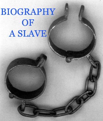 Product picture HISTORY OF SLAVERY - BIOGRAPHY OF A SLAVE