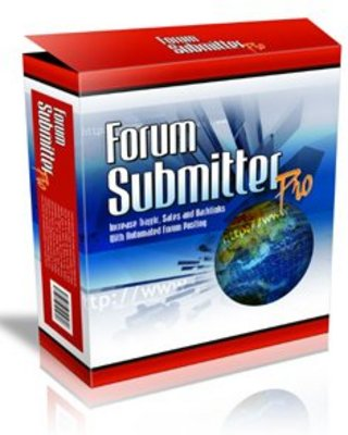 Product picture Forum Submitter Pro Software