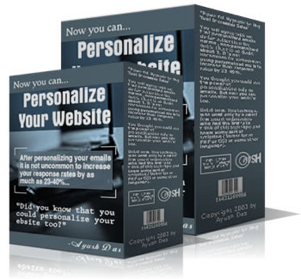 Product picture Personalize Your Website And Email Sales Utility Software