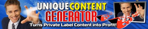 Product picture Unique Content Generator PRO Software MRR