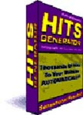 Product picture NEW Automatic Hits Traffic Generator