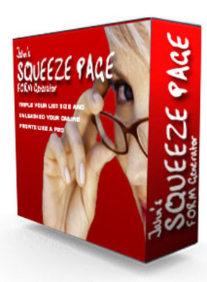 Product picture Squeeze Page Form Generator