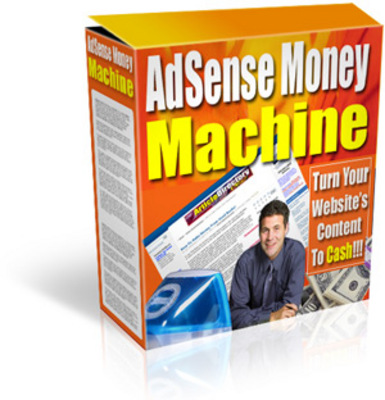 Product picture Google Adsense Money Machine (turn your content into cash)